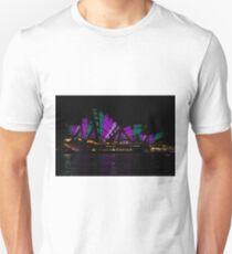 Sydney Vivid 19 Patterns 4 Unisex T-Shirt