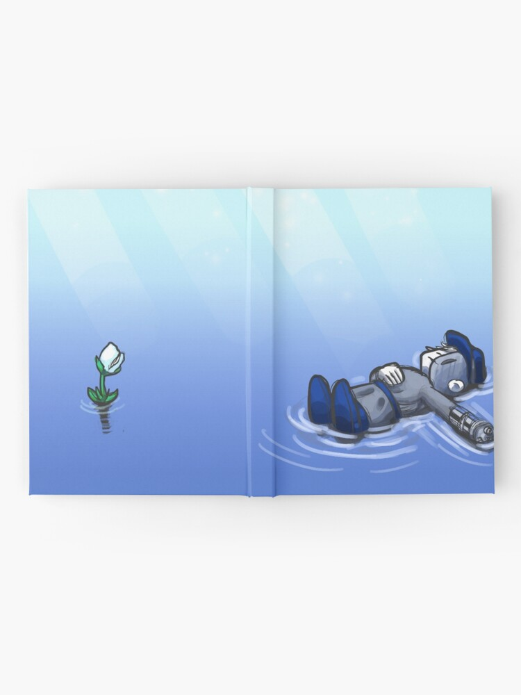 Alternate view of Peaceful Lakes Hardcover Journal