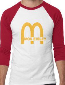 MOS EISLEY CANTINA FAST FOOD T-SHIRT #3 Men's Baseball ¾ T-Shirt