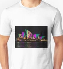 Sydney Vivid 21 Patterns 5 Unisex T-Shirt