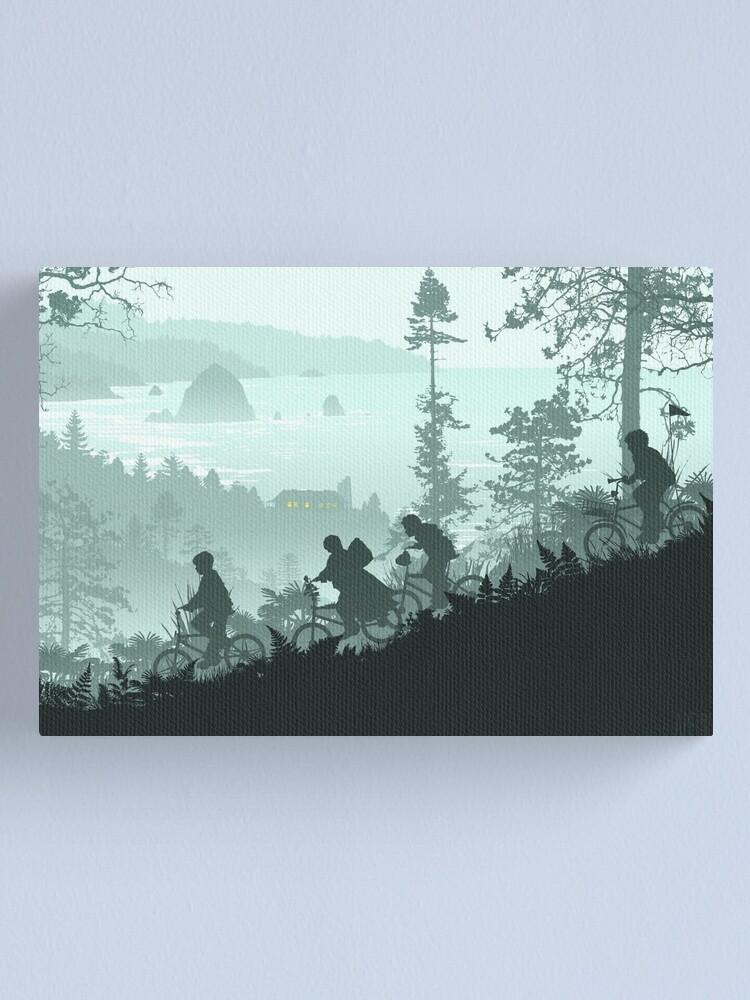 Alternate view of Goonies Never Say Die Canvas Print