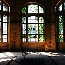 The old Bedstead in a historical, dilapidated Clinic.......... by Imi Koetz