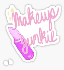 Makeup Junkie Sticker