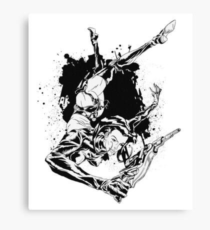 ÆON FLUX Canvas Print