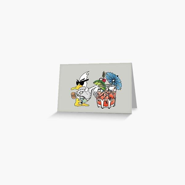 Summer Duck - Duck Logic Greeting Card