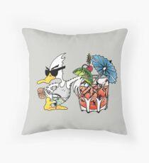 Summer Duck - Duck Logic Throw Pillow