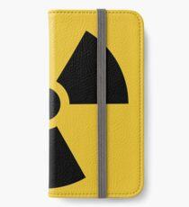 Vinilo o funda para iPhone Advertencia de radiación