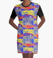 Whisper Graphic T-Shirt Dress