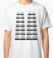 British and French 18th century Navies  Classic T-Shirt