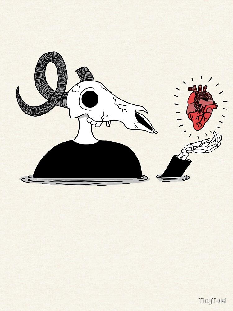 Skelett Herz von TinyTulsi