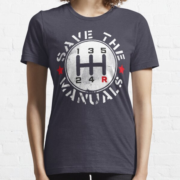Save The Manuals Essential T-Shirt