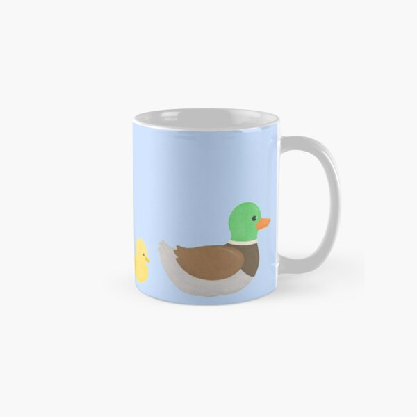 Mallard Duck with Ducklings Classic Mug