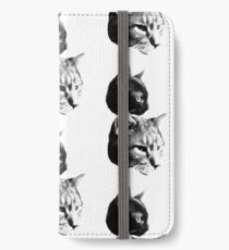 Duo White iPhone Wallet/Case/Skin