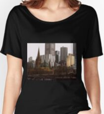Flinders Street Station Women's Relaxed Fit T-Shirt