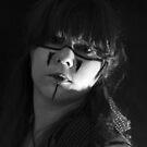Earth Warrior - Self portrait  by Sarah Horsman