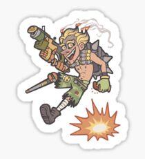 Baby I'm a Firework Sticker Sticker