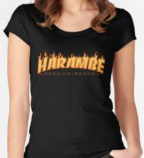Harambe Apparel & Accessories Women's Fitted Scoop T-Shirt
