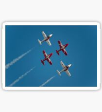 The Canadian Forces Snowbirds preform the Double Take! Sticker