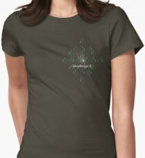Ancient feathers type MB Women's Fitted T-Shirt