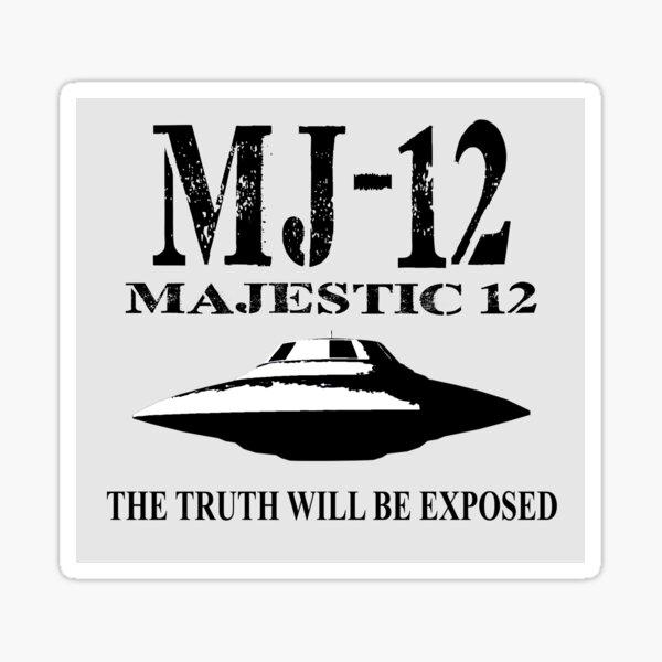 MAJESTIC 12 Sticker