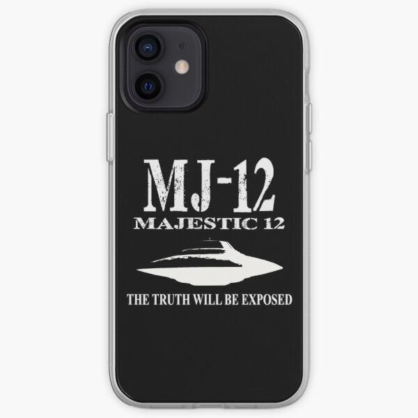 MJ-12. The truth will be exposed iPhone Soft Case