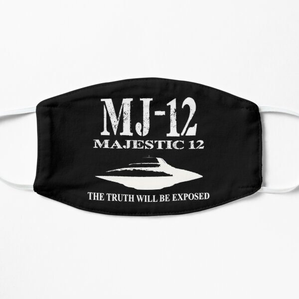 MJ-12. The truth will be exposed Flat Mask