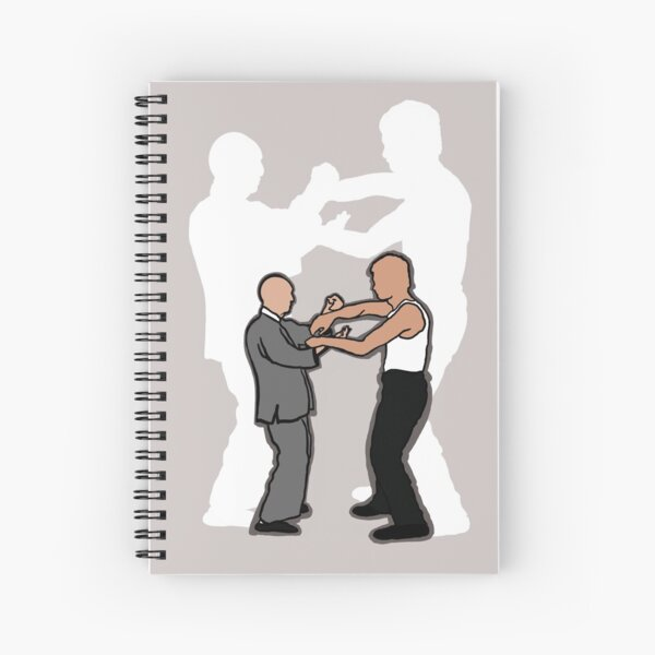 Wing Chun Masters 2021 Version A Spiral Notebook