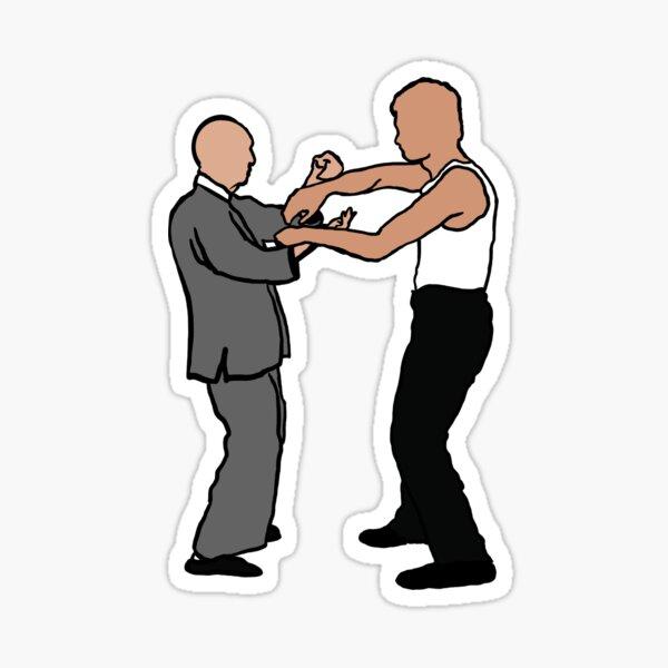 Wing Chun Masters 2021 Version C Sticker