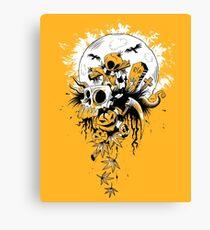 Samhain Scarecrow Canvas Print