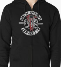 Sons of Apokolips Zipped Hoodie