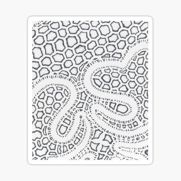 Skin Shedder Sticker