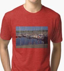 Marina with children Tri-blend T-Shirt
