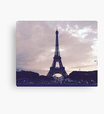Eiffel Tower - Pastel Canvas Print