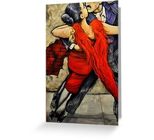 The Dance of Life Greeting Card