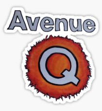 AVENUE Q Sticker