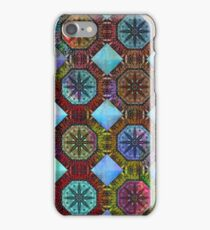 Coloured Chequers iPhone Case/Skin
