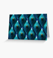 Abstract Background of jewel Greeting Card