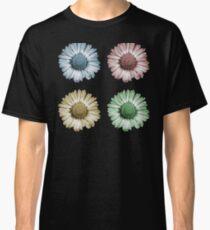 Pop Art Daisy x4 Classic T-Shirt