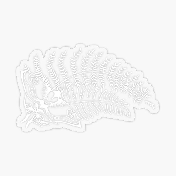 The Last of Us Ellie Tattoo *inspired* - White Transparent Sticker