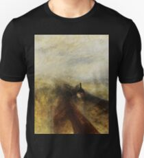 Rain, Steam and Speed by JMW Turner Unisex T-Shirt