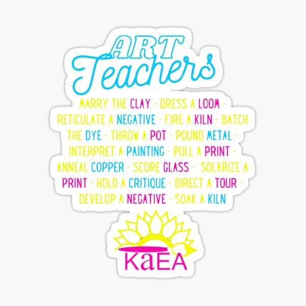 Art Teachers In A Day Sticker