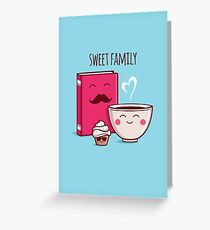 Sweet Family Greeting Card
