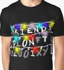 Stranger Things - Friends Don't Lie Graphic T-Shirt