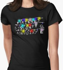Stranger Things - Friends Don't Lie Women's Fitted T-Shirt