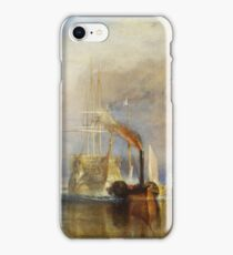The Fighting Temeraire by JMW Turner iPhone Case/Skin