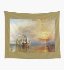 The Fighting Temeraire by JMW Turner Wall Tapestry