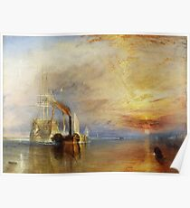The Fighting Temeraire by JMW Turner Poster