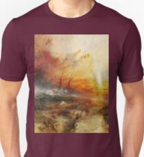 The Slave Ship by JMW Turner T-Shirt