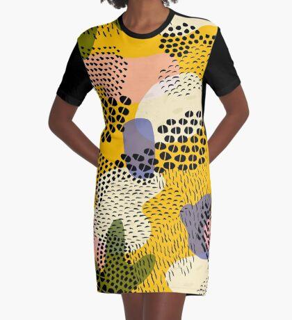 Piña Colada Graphic T-Shirt Dress