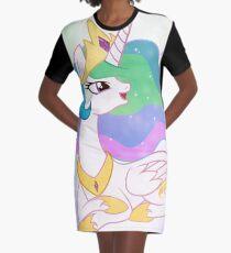 Princess Celestia 2 Graphic T Shirt Dress